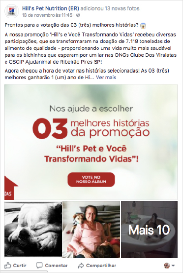 Hills Pet Transformando Vidas - Facebook